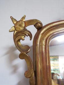 specchiera antica lombarda
