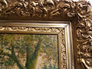 quadro antico ruscello