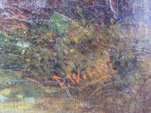 quadro firmato windt