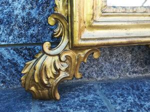 Specchiera toscana in legno di gattice luigi xvi