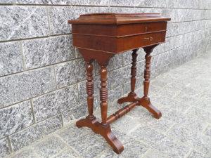 tavolino antico da lavoro Luigi Filippo